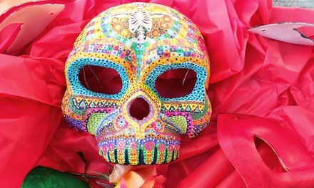 Papier-Mâché a Day of the Dead Mask (40% Off)