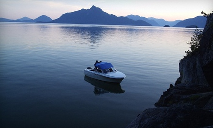 Squamish Harbour Boat Rentals - Redemption: One-Hour Hourston Glascraft or Motor-Boat Rental from Squamish Harbour Boat Rentals (51% Off)