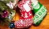 Four Christmas Stocking Sacks
