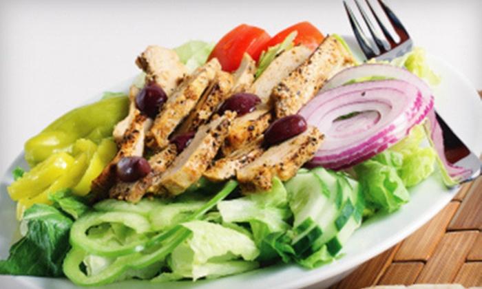 Pita's Republic - Multiple Locations: $8 for $16 Worth of Mediterranean Cuisine at Pita's Republic