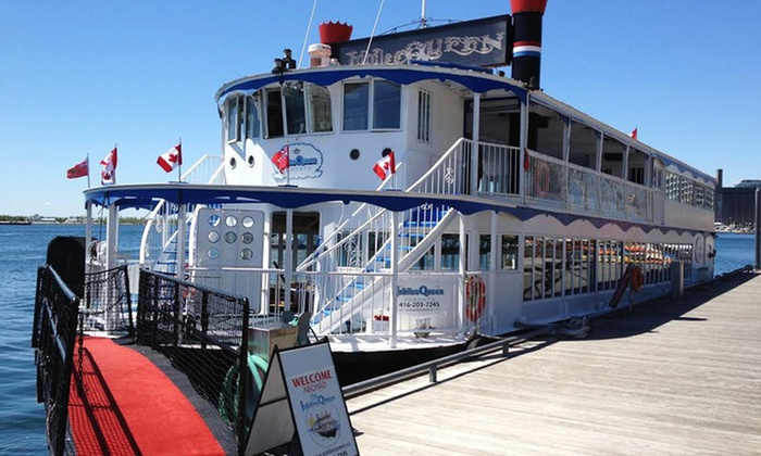 Jubilee Queen - Harbourfront: Lunch Cruise or a Dinner Cruise from Jubilee Queen (Up to 51% Off)