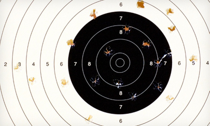 nRange - Nashville: Shooting-Range Package with Lane Rental, Firearm Rental, Ammo, and Target for Two or Four at nRange (Up to 57% Off)