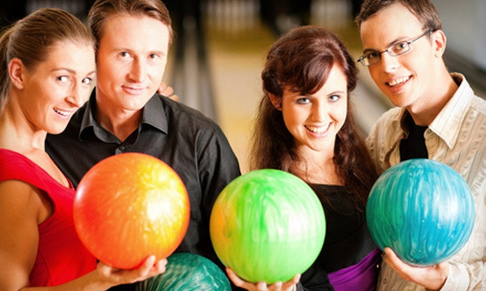 Whitewood Lanes - West: Bowling Outing with Two Games Shoe Rental for Four or Six at Whitewood Lanes (57% Off)