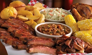 Famous Dave's BBQ: Barbecue for a Table of Two or Four or Barbecue Carryout from Famous Dave's BBQ (Up to 40% Off)