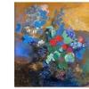 "Symbolist Prints by Odilon Redon on 18""x25"" Gallery-Wrapped Canvas"