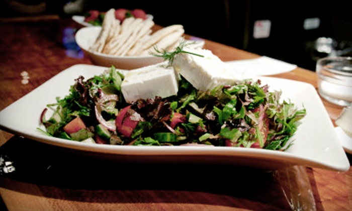 The Gnarly Vine - Downtown New Rochelle: Small Plates and Wine for Two or Four at The Gnarly Vine (Up to 52% Off). Four Options Available.
