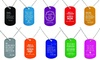 Up to 81% Off Custom Laser-Etched Family Collection Dog Tags