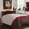 9-Piece Embroidered Comforter Set