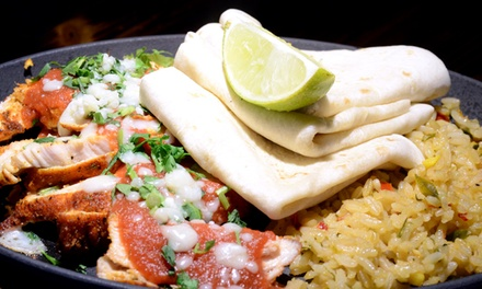 Mexican Cuisine at La Cantina (50% Off). Four Options Available.