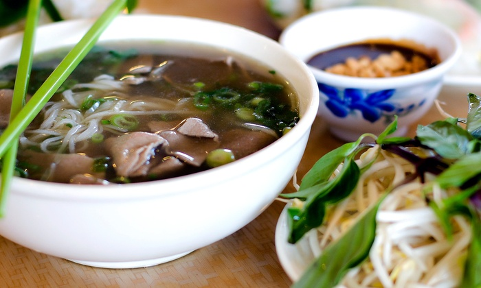 Pho Good - Blackhawk: $17 for Two Groupons, Each Good for $15 Worth of Pho at Pho Good ($30 Total Value)