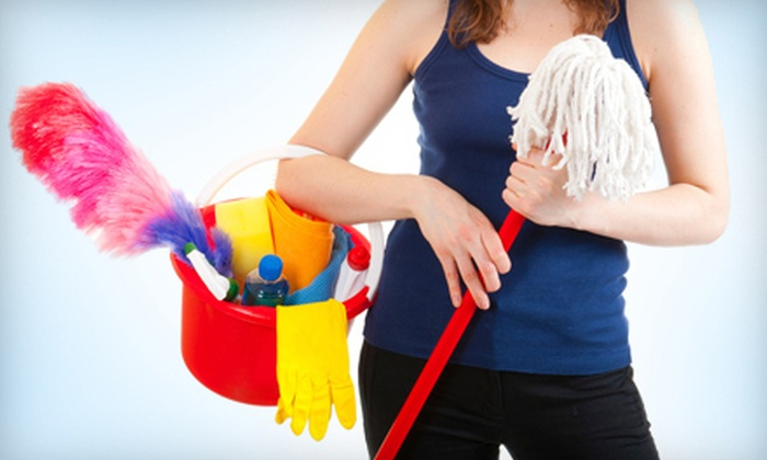 Organically Maid - Castro Valley: $59 for Two Man-Hour Housecleaning Session from Organically Maid ($140 Value)