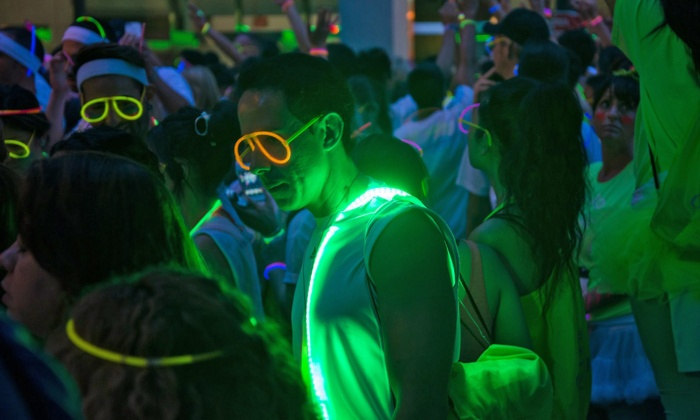 GlowBash 5K  - Downtown Phoenix: Race Entry for One or Two to Glowbash 5K Race on Saturday, November 1 at 7 p.m. (Up to 66% Off)