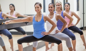 Coreworks Fitness: 5 or 10 Barre Sculpt or Yoga Barre Classes (Up to 62% Off)