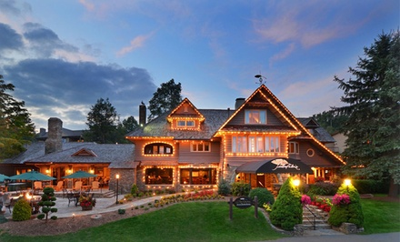 1- or 2-Night Stay with Daily Breakfast at Chetola Mountain Resort in Blowing Rock, NC