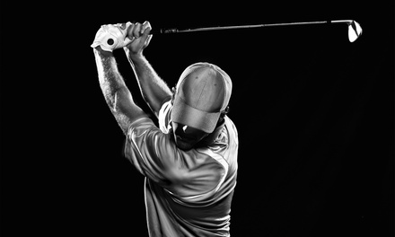 $16 for 60 Minutes of Indoor Driving-Range Time at Eaglequest Golf ($30)