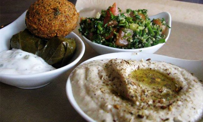 Mezza House - Hackettstown: Lebanese/Mediterranean Lunch or Dinner for Two or Four at Mezza House (Up to 52% Off)