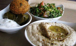 Mezza House: Lebanese/Mediterranean Lunch or Dinner for Two or Four at Mezza House (Up to 52% Off)