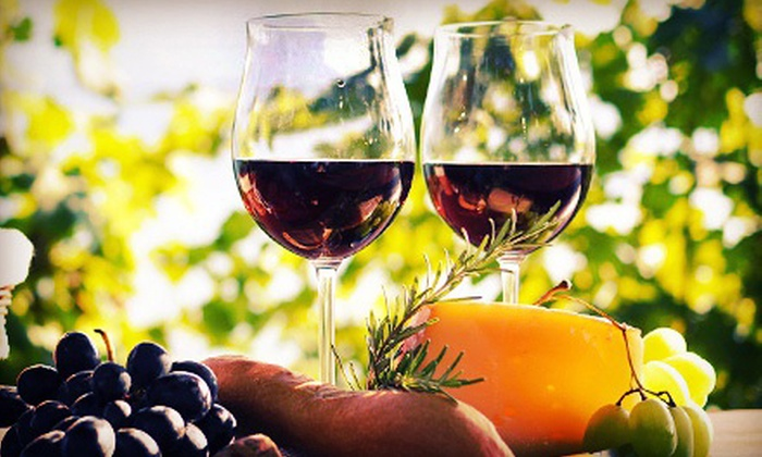 Blue Mountain Vineyards & Cellars - Multiple Locations: Wine and Cheese Tasting for Two or Four with Optional Winery Tour at Blue Mountain Vineyards & Cellars (Up to 54% Off)