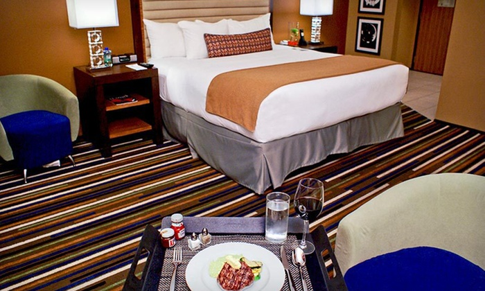 The Groupon is only valid for Superior King rooms. However, you may call the hotel 48 hours after purchasing the Groupon to upgrade to a Superior Queen/Queen room for an additional $30 per night. This upgrade will be based on availability.