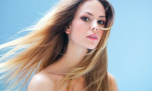Mosaic Salon: Haircut with Options for Color or Highlights or Brazilian Blowout at Mosaic Salon  (Up to 64% Off)