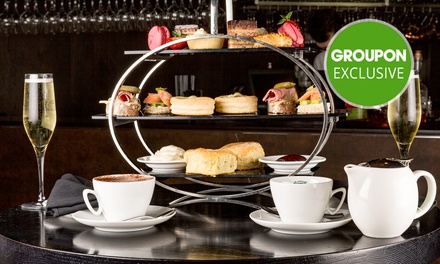 High Tea in the Sky + Bubbly $29 to 4 Ppl $105 at Four Points By Sheraton Brisbane Dining Up to $216 Value