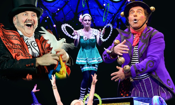 """Big Apple Circus - Live On Stage! - Tarrytown Music Hall: """"Big Apple Circus - Live On Stage!"""" at Tarrytown Music Hall on Saturday, June 27 (Up to 41% Off)"""