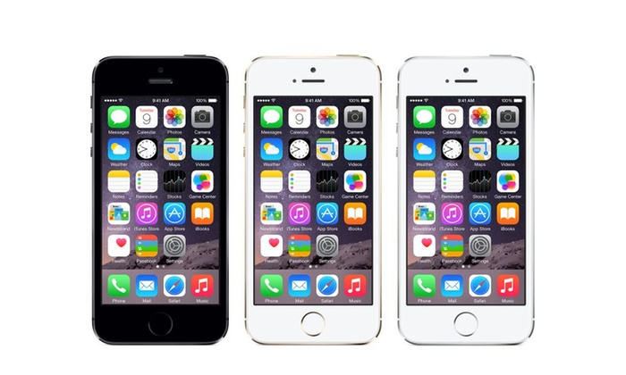 reconditionn apple iphone 5s groupon shopping. Black Bedroom Furniture Sets. Home Design Ideas