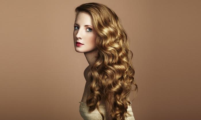Blown Away Hair & Makeup Design By Brandy Merritt - Riviera/Westchester: Women's Haircut with Hair and Scalp Treatment (55% Off)