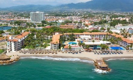 All-Inclusive Stay at Crown Paradise Club Puerto Vallarta in Mexico; Dates into March Available