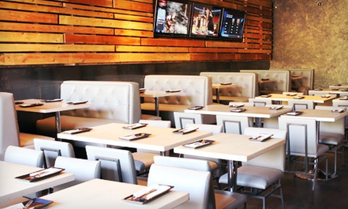 Market Bar Chicago - West Town: American Dinner with Drinks for Two or Four or with Bottle Service for Four or Six at Market Bar Chicago (Up to 55% Off)