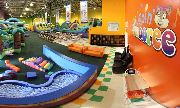 Jumpin' Jamboree - Doral: Kids' Bounce Visit for Two or Four or Party for Eight Children at Jumpin' Jamboree (Up to 45% Off)