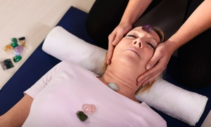 Kosmo: One or Two 60- or 90-Minute Reiki Massages with Charged Crystals at Kosmo (Up to 66% Off)