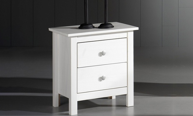 table de chevet chiffonnier ou commode groupon. Black Bedroom Furniture Sets. Home Design Ideas