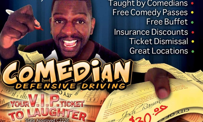 Comedy Defensive Driving by B Smitty - Northwest Side: Up to 53% Off Defensive-Driving Class at Comedy Defensive Driving by B Smitty