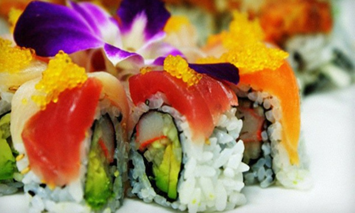 Kumo Japanese Steak House & Sushi - Fort Myers: Hibachi Cuisine and Sushi for Two or More at Kumo Japanese Steak House & Sushi (Half Off)