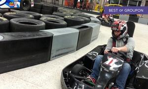 Extreme Grand Prix Indoor Family Fun Center: Go-Kart or Bounce House at Extreme Grand Prix Indoor Family Fun Center (Up to 41% Off). Three Options Available.
