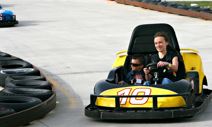 Mountasia Family Fun Park - Walker Branch: Mini Golf and Go-Karting for Two, Four, or Six at Mountasia Family Fun Park (Half Off)