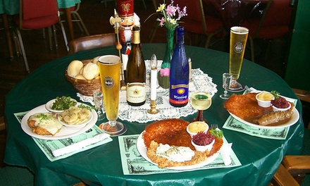 German Food at Dreamland Palace German Restaurant (50% Off)
