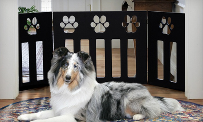Up To 81% Off Adjustable Pet Gates ...