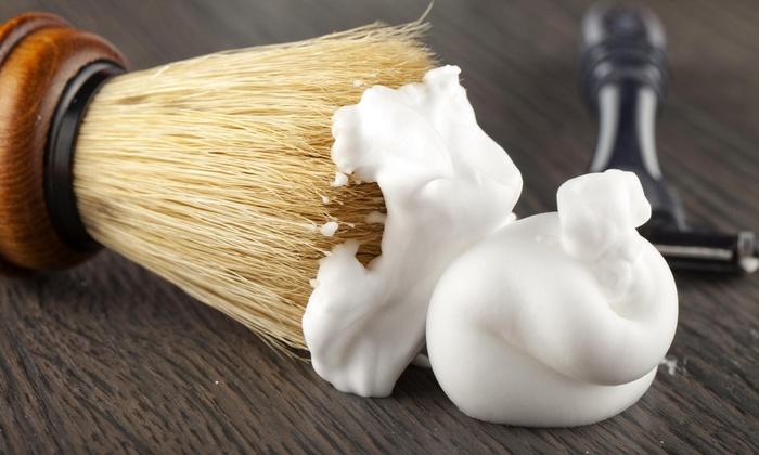 Salon Steller By April Lowe - Marston: A Men's Haircut and Shave from Salon Steller by April Lowe (55% Off)