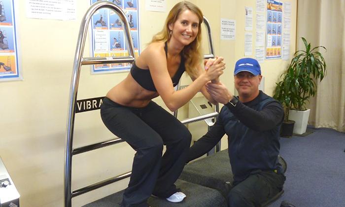 Vibra Train - Auckland: Vibra-Train with Anti-Cellulite Massage - 10 ($35), 20 ($59) or 30 Sessions ($79) at Vibra Train, CBD (Up to $450 Value)