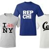Karma Fit Men's City Graphic T-Shirts