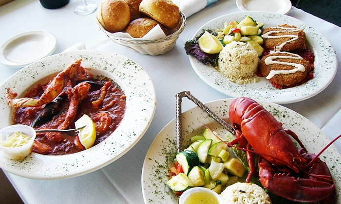 Miramar Fish Grotto - Santa Cruz: Seafood and Drinks for Two or Four at Miramar Fish Grotto (40% Off)
