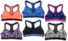 Racerback Sports Bras (6-Pack): Racerback Sports Bras in Regular and Plus Sizes (6-Pack)