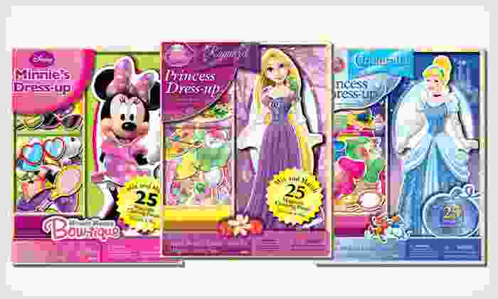 Disney 25-Piece Wooden Doll Set: $6.99 for a Disney 25-Piece Wooden Doll Set ($12.99 List Price). Three Options Available.