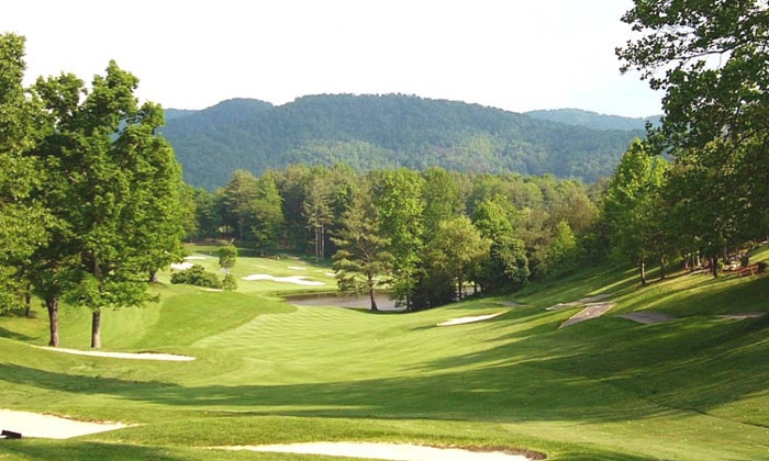 Reems Creek Golf Course - Reems Creek Golf Club: 18-Hole Round of Golf, Cart, and Small Bucket of Range Balls at Reems Creek Golf Course ($52 Value)