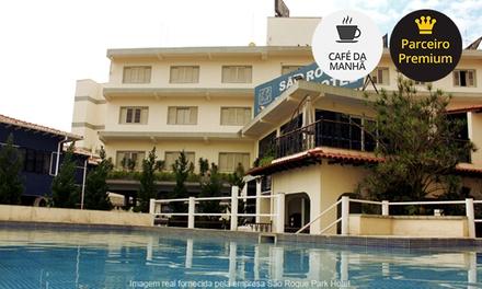 São Roque/SP: até 4 noites p/ 2 + café da manhã no São Roque Park Hotel. Digite SALDAO e ganhe + 10% off