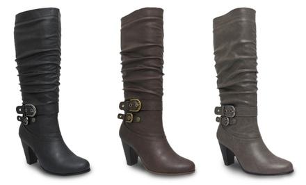 AXNY Sylvia Women's Heeled Boots