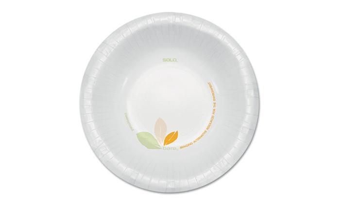 Solo Cup Company Bare Paper 12oz. Bowls: Solo Cup Company Bare Paper 12oz. Bowls; 500ct.