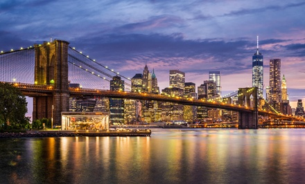 groupon daily deal - Stay at Comfort Inn Brooklyn - Downtown in New York City, with Dates into March